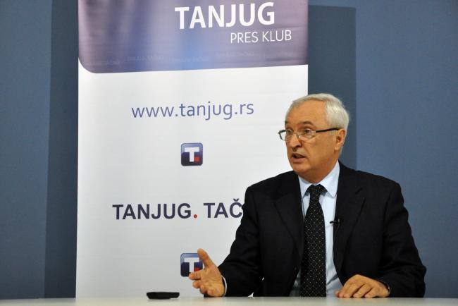 Генеральный директор Имлека Слободан Петровић