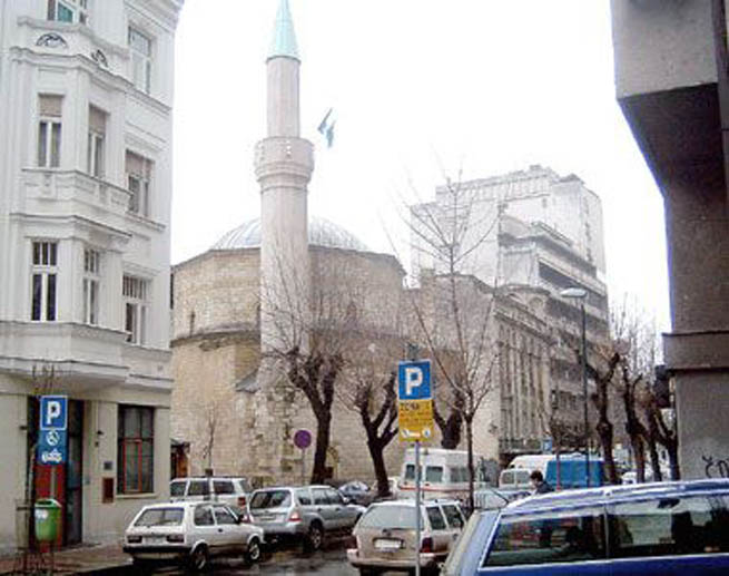 Мечеть Байракли в Белграде