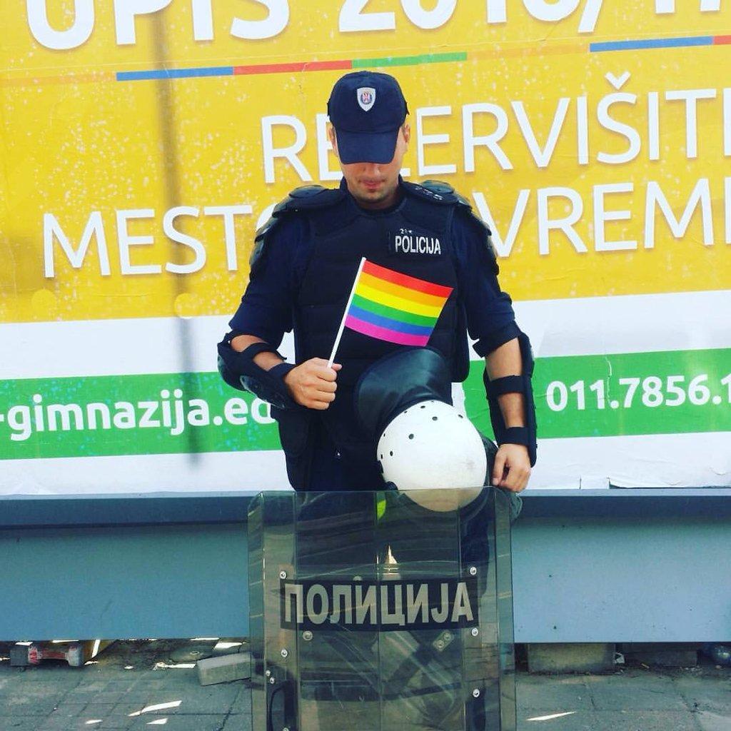 Парад гордости в Белграде